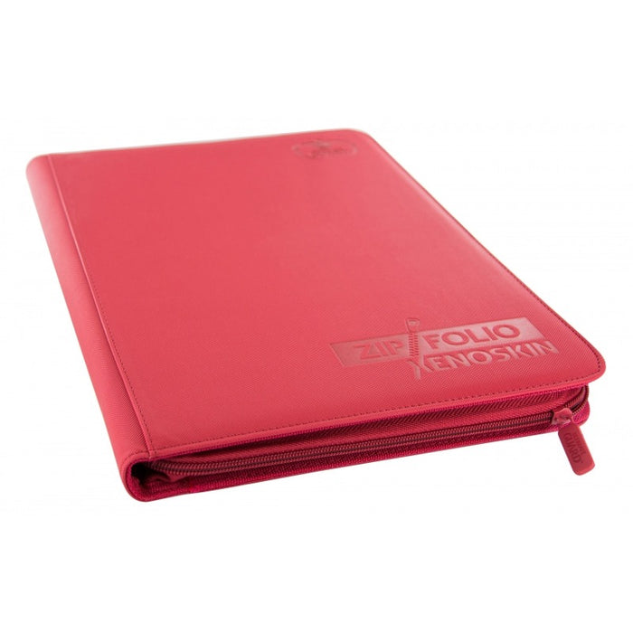 Ultimate Guard: 9 Pocket Zipfolio XenoSkin - Red