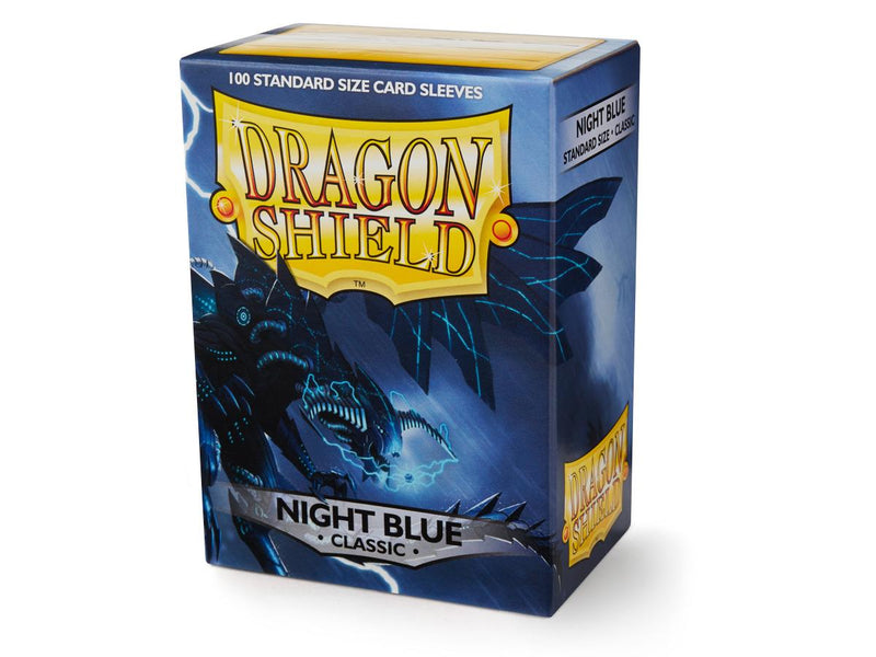 Dragon Shield: Classic Night Blue Standard Size Sleeves