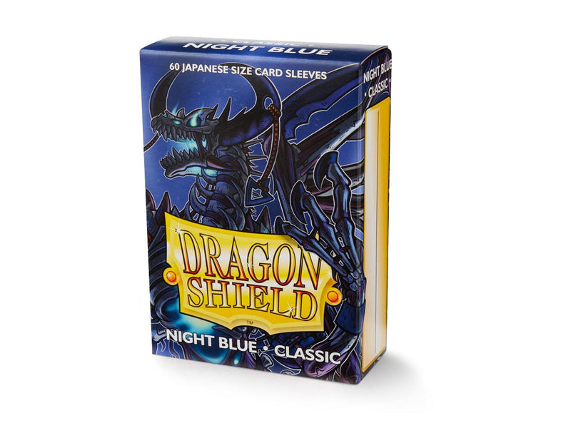 Dragon Shield: Classic Night Blue Japanese Size Sleeves 60ct