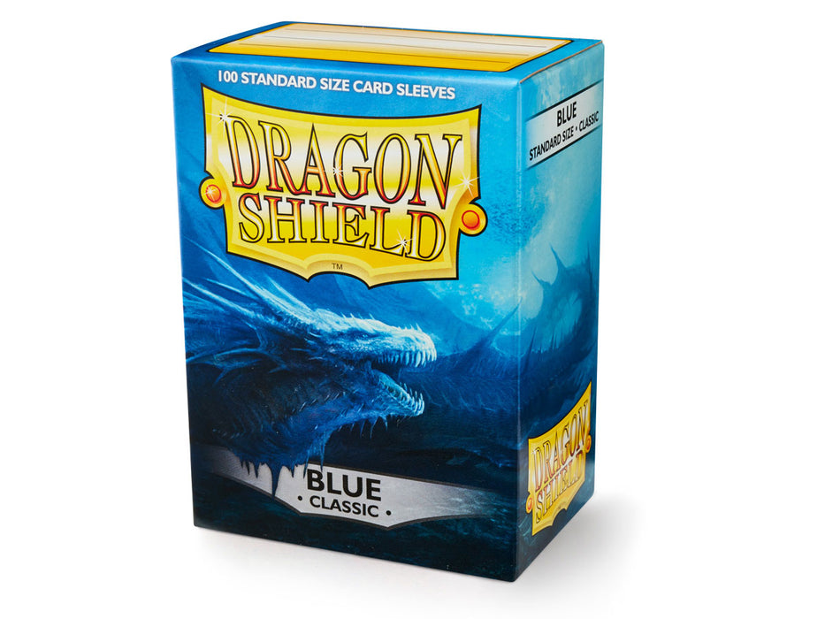 Dragon Shield: Classic Blue Standard Size Sleeves