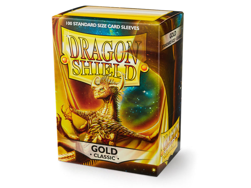 Dragon Shield: Classic Gold Standard Size Sleeves