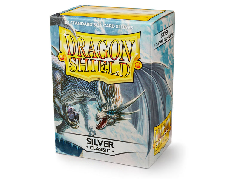 Dragon Shield: Classic Silver Standard Size Sleeves