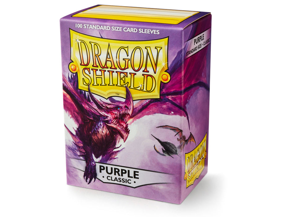 Dragon Shield: Classic Purple Standard Size Sleeves