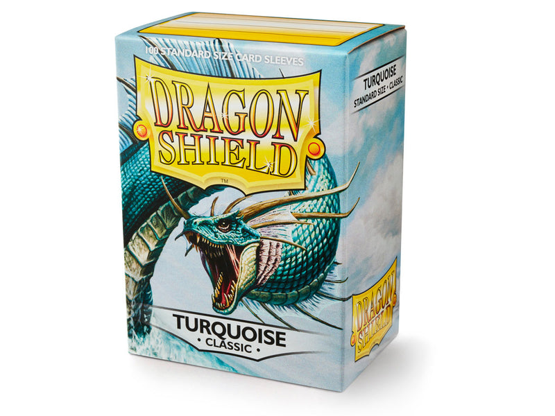 Dragon Shield: Classic Turquoise Standard Size Sleeves