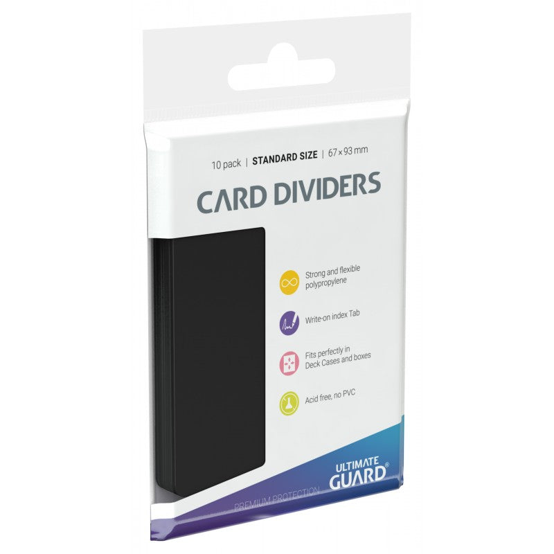 Ultimate Guard: Card Dividers - Black