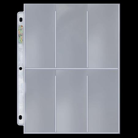 Ultra Pro: Platinum Series 6-Pocket Pages