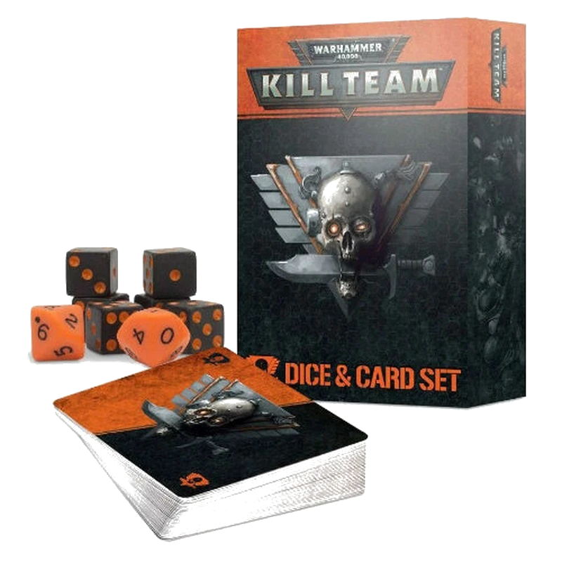 Warhammer 40000: Kill Team Dice & Card Set