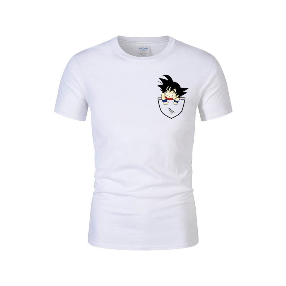 Dragon Ball Z T Shirt Poche