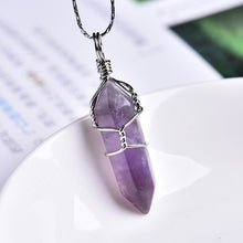 1PC Natural Crystal Pendant - Melanated Essentials