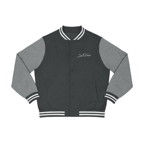 Men's Embroidered Varsity Jacket