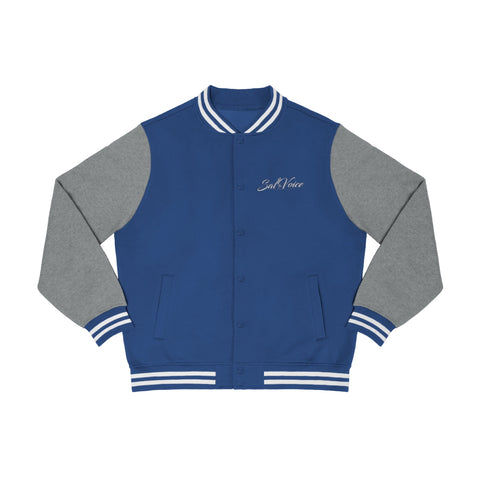 Image of Men's Embroidered Varsity Jacket