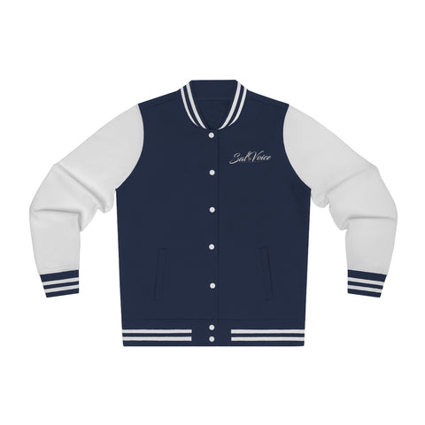 Image of Women's Embroidered Varsity Jacket