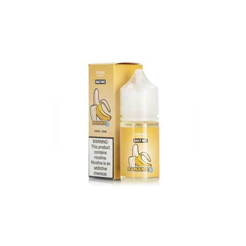 Banana Ice - ORGNX SALT - 30ml Salt Nic