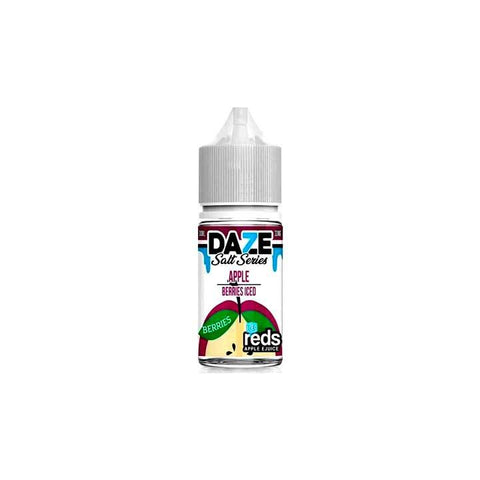 Berries ICED Reds Apple - 7 Daze SALT - 30mL Salt Nic