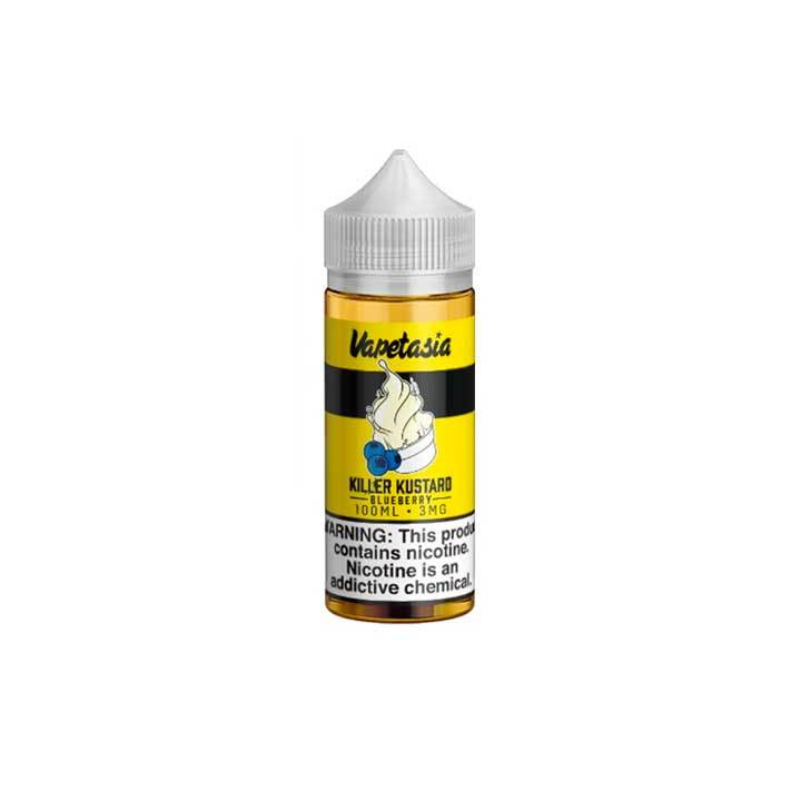 Blueberry Killer Kustard - Vapetasia - 100mL Vape Juice