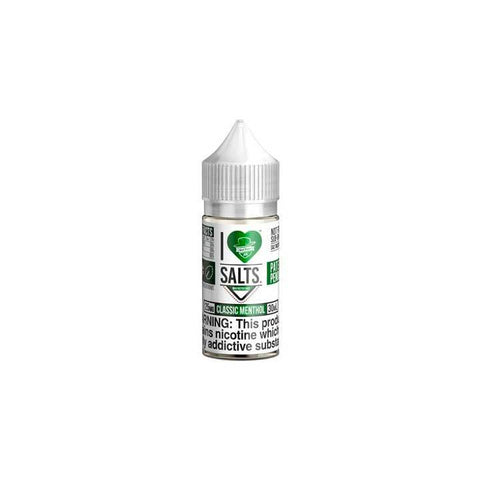 Classic Menthol - I Love Salts - 30ml Salt Nic