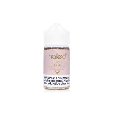 Euro Gold - Naked 100 Tobacco - 60mL Vape Juice