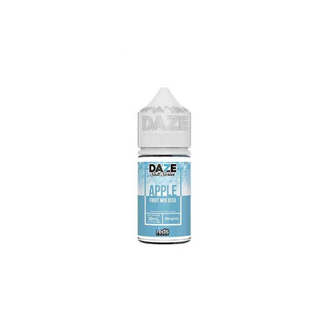 Fruit Mix ICED Reds Apple - 7 Daze SALT - 30mL Salt Nic