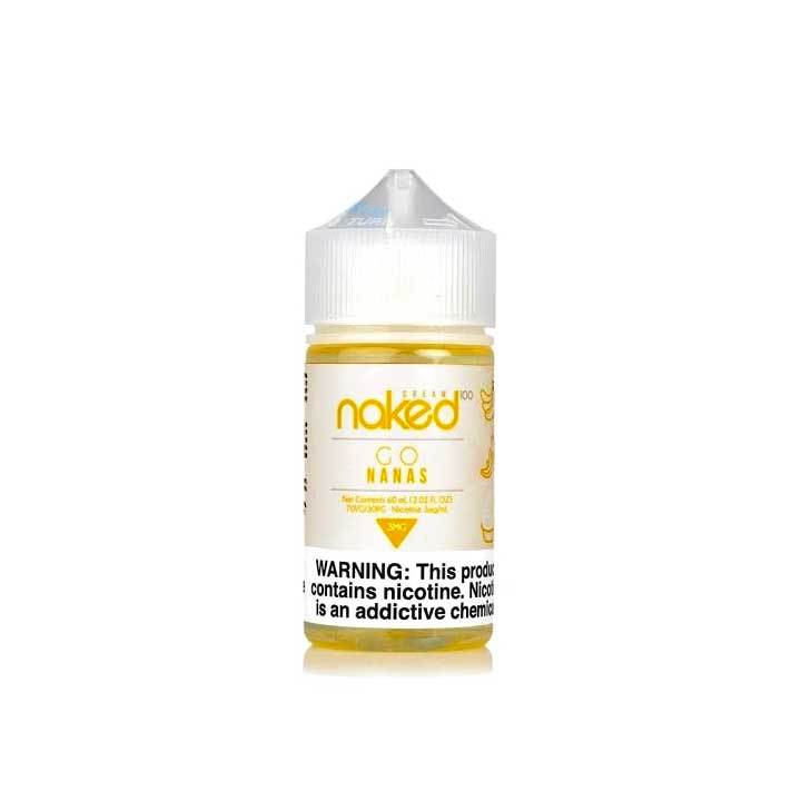 Go Nanas - Naked 100 Cream - 60mL Vape Juice