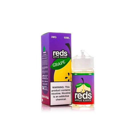 Grape Reds Apple eJuice - 7 Daze - 60mL Vape Juice
