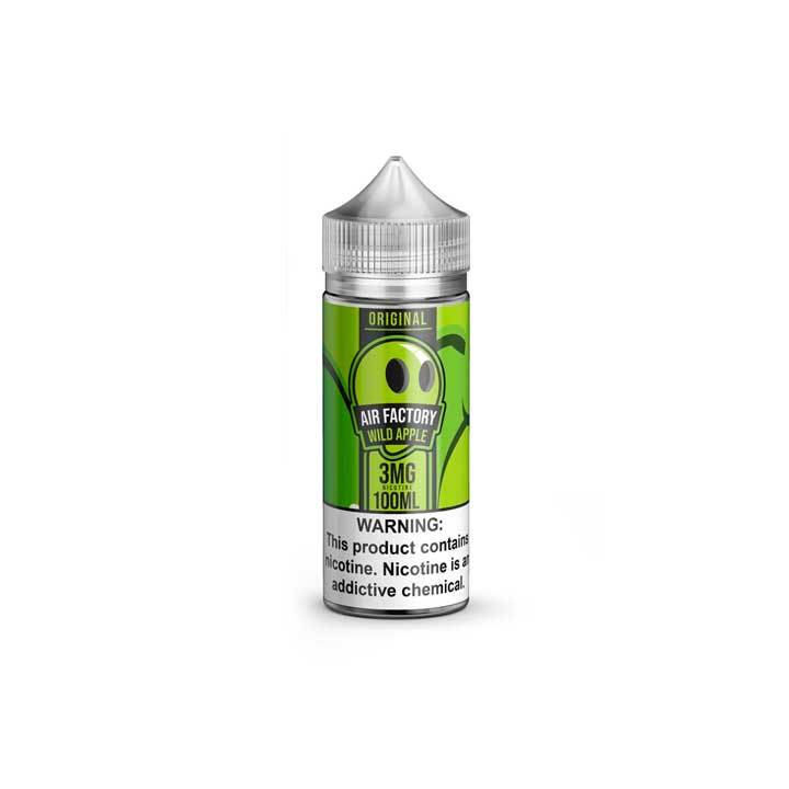 Green Apple - Air Factory - 100mL Vape Juice