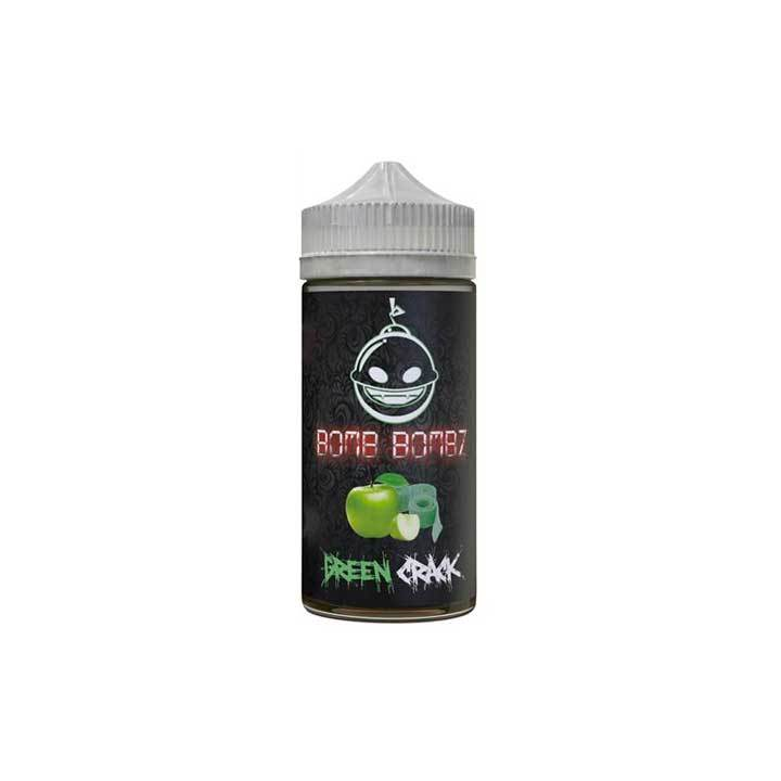 Green Crack - Bomb Bombz - 100ml Vape Juice