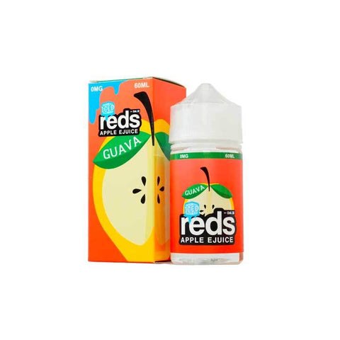 Guava ICED Reds Apple eJuice - 7 Daze - 60mL Vape Juice