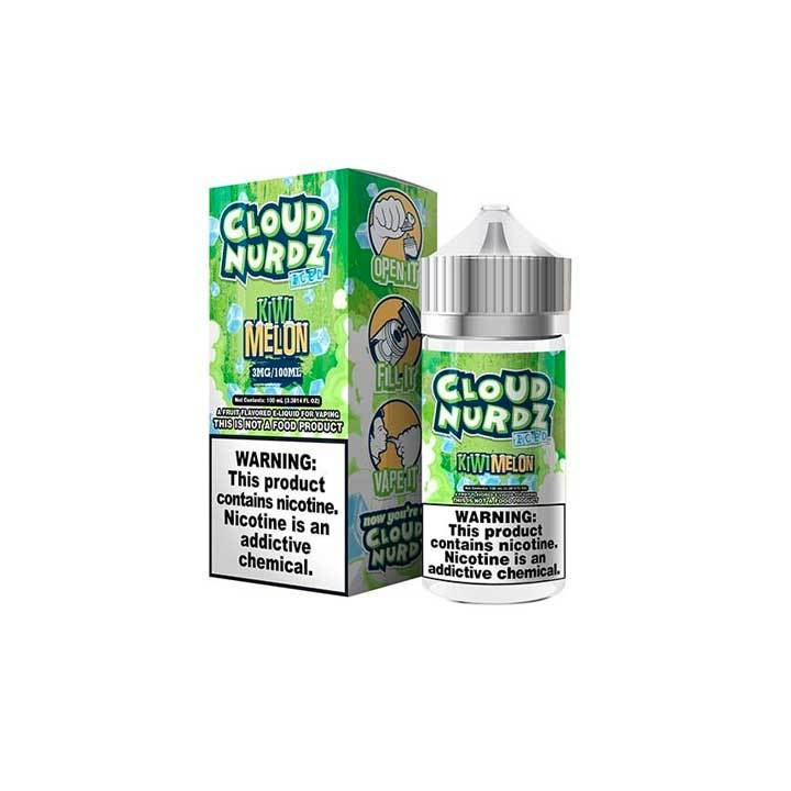 Kiwi Melon ICE - Cloud Nurdz Collection - 100ml Vape Juice