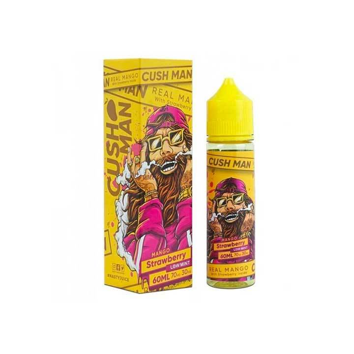 Nasty Juice Cush Man Series - Mango Strawberry - 60mL Vape Juice