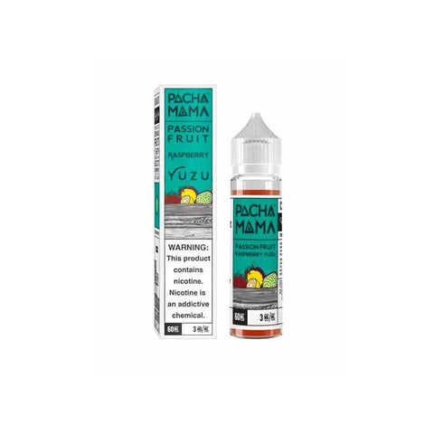 Passion Fruit Raspberry Yuzu - Pachamama - 60mL Vape Juice