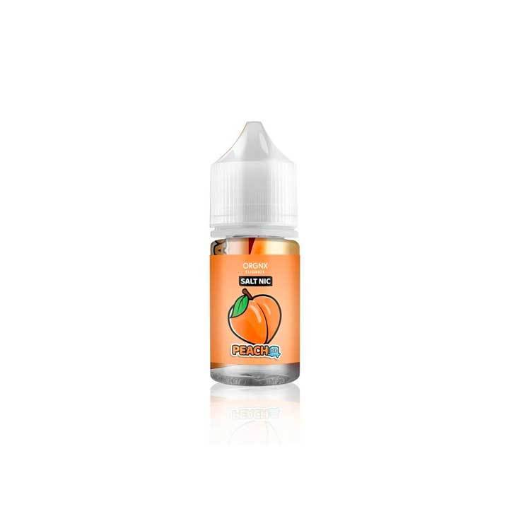 Peach Ice - ORGNX SALT - 30ml Salt Nic