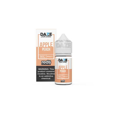Peach Reds Apple - 7 Daze SALT - 30mL Salt Nic