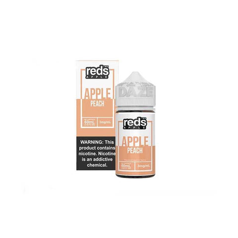 Peach Reds Apple eJuice - 7 Daze - 60mL Vape Juice