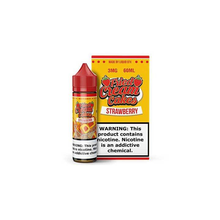 Strawberry - Fried Cream Cakes - 60ml Vape Juice