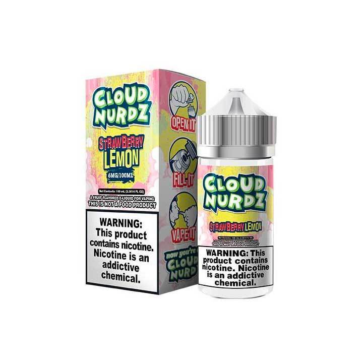 Strawberry Lemon - Cloud Nurdz Collection - 100ml Vape Juice