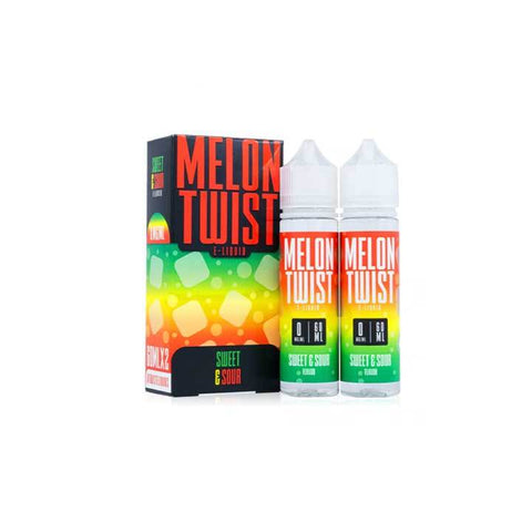Sweet and Sour - Melon Twist - 60mL Vape Juice