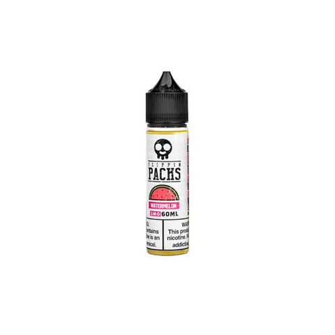 Watermelon - Flippin Packs - 60ml Vape Juice