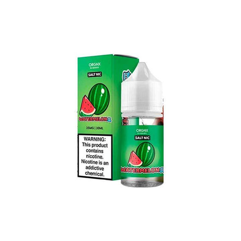 Watermelon Ice - ORGNX SALT - 30ml Salt Nic