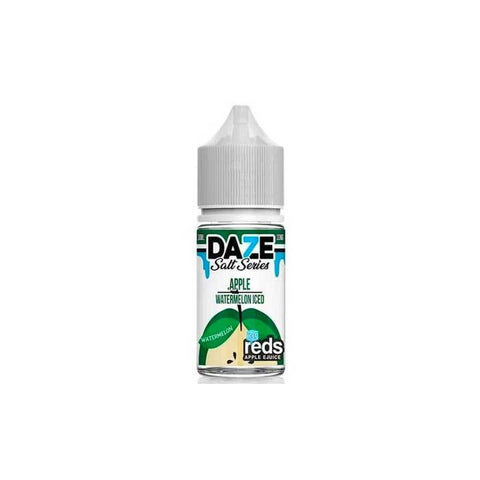Watermelon Iced Reds Apple - 7 Daze SALT - 30mL Salt Nic