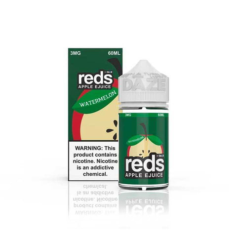Watermelon Reds Apple eJuice - 7 Daze - 60mL Vape Juice