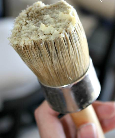 Professional Wax Brush - Natural Bristled Chalk Painter's Choice by Renaissance