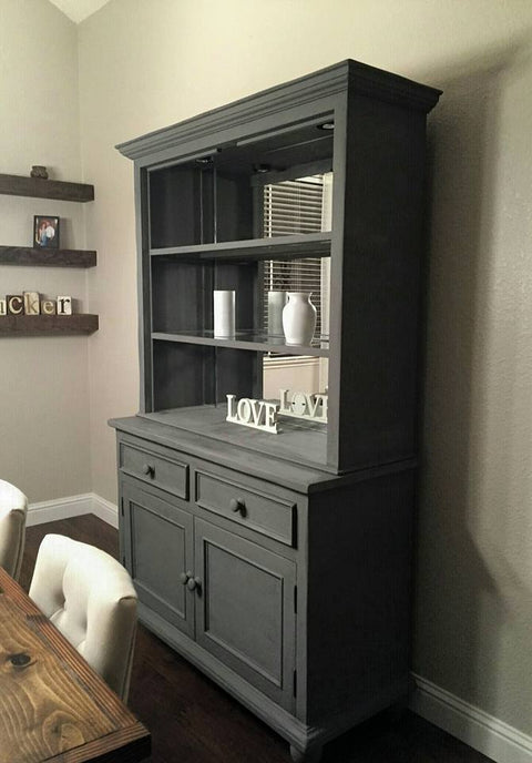 Renaissance Furniture Paint - Chalk Finish Paint - Greystone