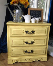 Renaissance Furniture Paint - Chalk Finish Paint - Naples Yellow