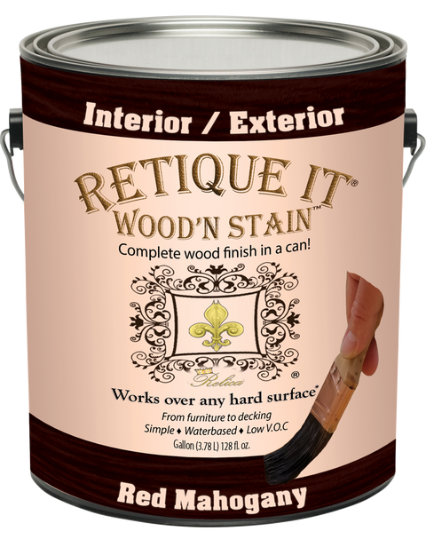 Wood'n Stain - Red Mahogany