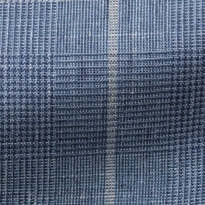 Solbiati Pale Blue Check Suit