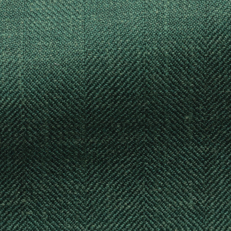 Loro Piana Green Herringbone Sport Coat