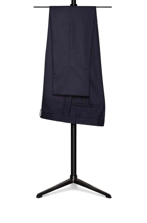Light Navy Four Season Wool Trousers