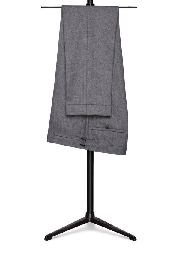Light Grey Four Season Wool Trousers
