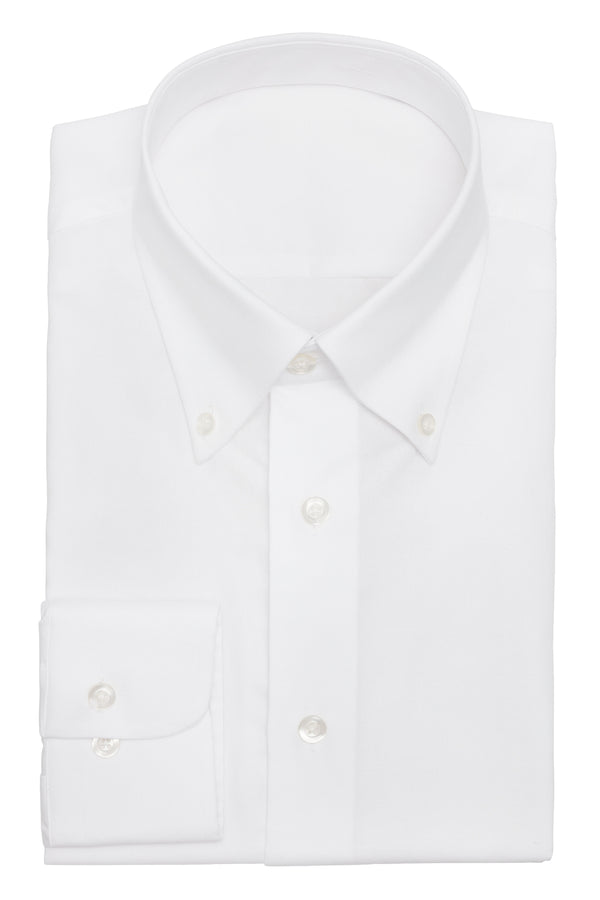 The Essential White Oxford Shirt