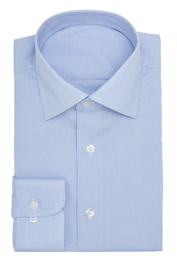 The Essential Blue Puppytooth Shirt